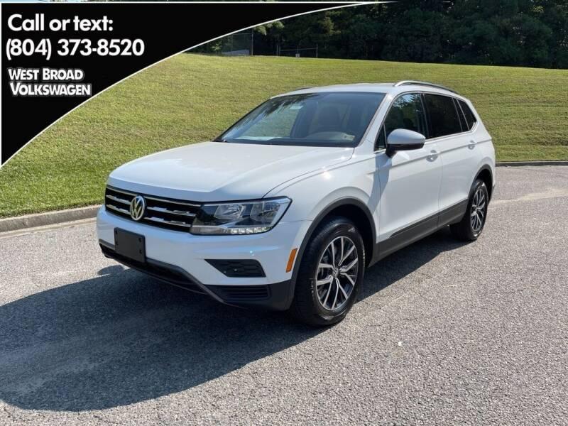 2021 Volkswagen Tiguan for sale in Richmond, VA