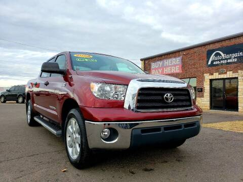 2008 Toyota Tundra for sale at AUTO BARGAIN, INC. #2 in Oklahoma City OK