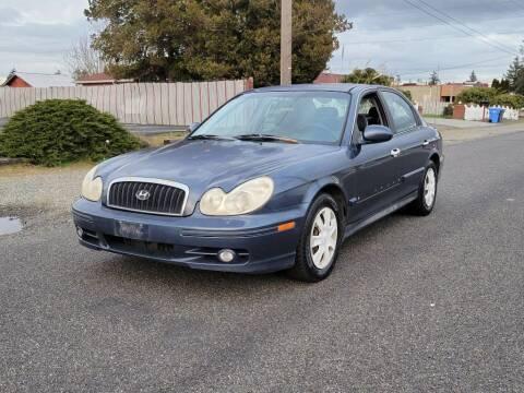 2003 Hyundai Sonata for sale at Baboor Auto Sales in Lakewood WA
