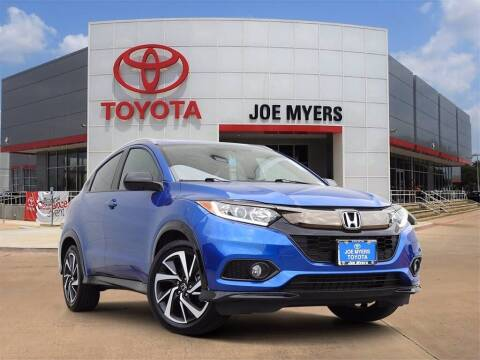 2020 Honda HR-V for sale at Joe Myers Toyota PreOwned in Houston TX