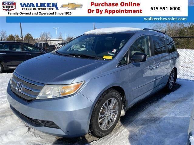 2011 Honda Odyssey for sale at WALKER CHEVROLET in Franklin TN