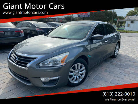 2015 Nissan Altima for sale at Giant Motor Cars in Tampa FL