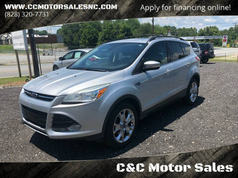 2013 Ford Escape for sale at C&C Motor Sales LLC in Hudson NC