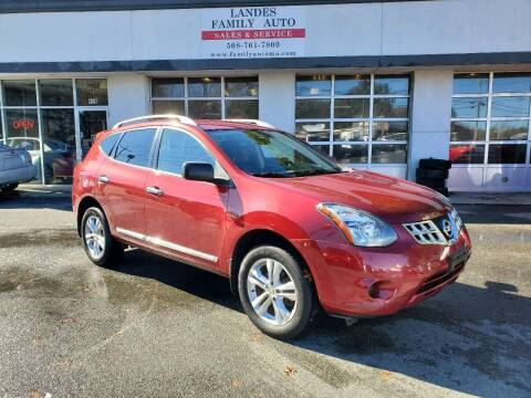 2015 Nissan Rogue Select for sale at Landes Family Auto Sales in Attleboro MA