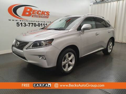 2015 Lexus RX 350 for sale at Becks Auto Group in Mason OH