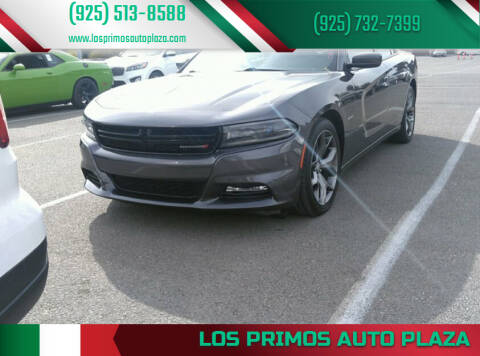 2016 Dodge Charger for sale at Los Primos Auto Plaza in Brentwood CA