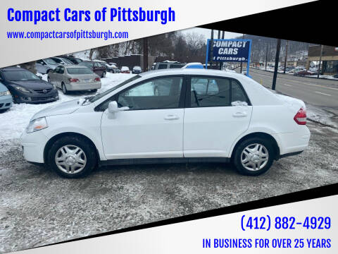 2011 Nissan Versa for sale at Compact Cars of Pittsburgh in Pittsburgh PA