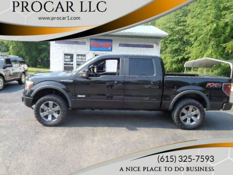 2012 Ford F-150 for sale at PROCAR LLC in Portland TN