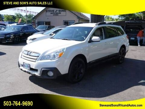 2013 Subaru Outback for sale at Steve & Sons Auto Sales in Happy Valley OR