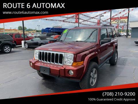 2008 Jeep Commander for sale at ROUTE 6 AUTOMAX in Markham IL