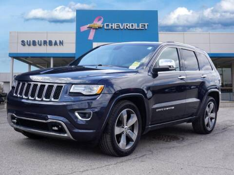 2015 Jeep Grand Cherokee for sale at Suburban Chevrolet of Ann Arbor in Ann Arbor MI