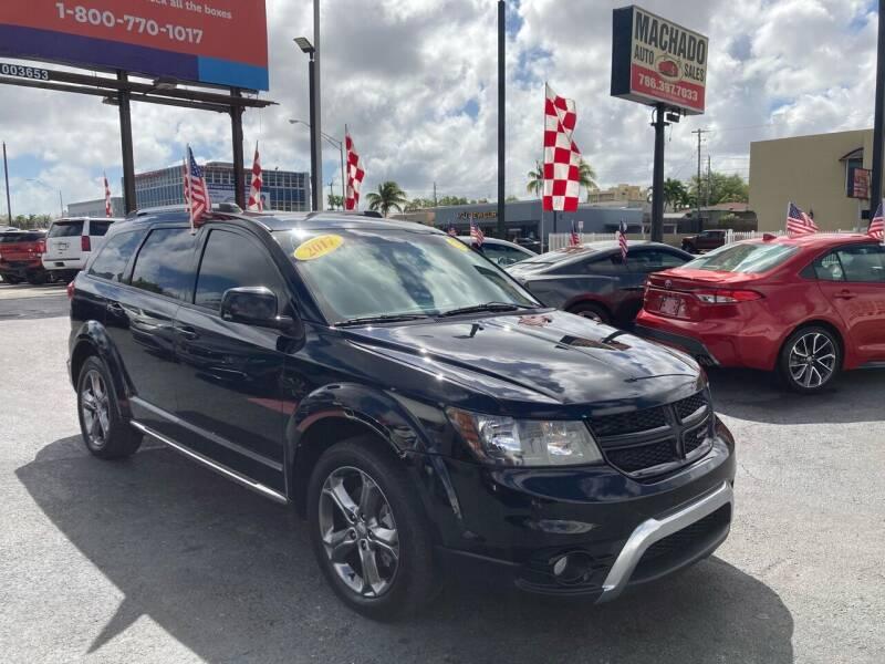 2017 Dodge Journey for sale at MACHADO AUTO SALES in Miami FL