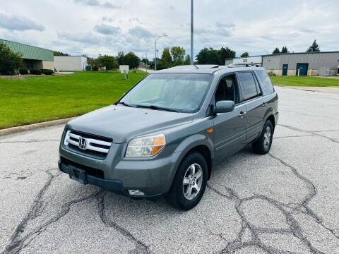 2007 Honda Pilot for sale at JE Autoworks LLC in Willoughby OH