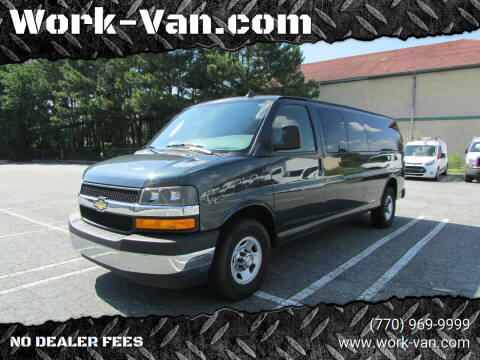 2018 Chevrolet Express Passenger for sale at Work-Van.com in Union City GA