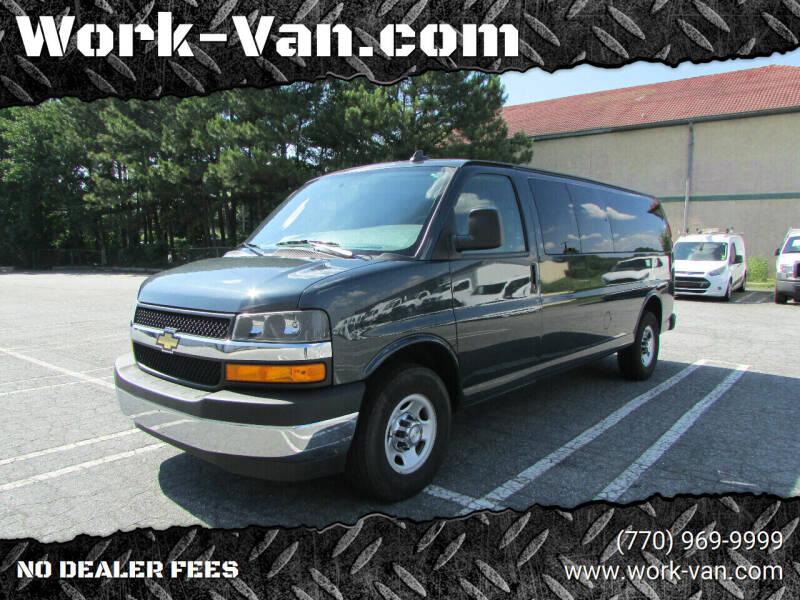 2018 Chevrolet Express Passenger for sale at Work-Van.com in Union City GA