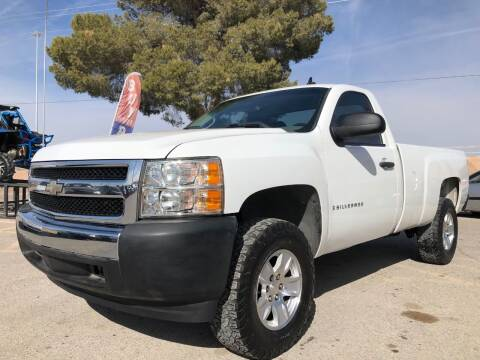 2007 Chevrolet Silverado 1500 for sale at Eastside Auto Sales in El Paso TX