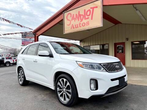 2014 Kia Sorento for sale at Sandlot Autos in Tyler TX