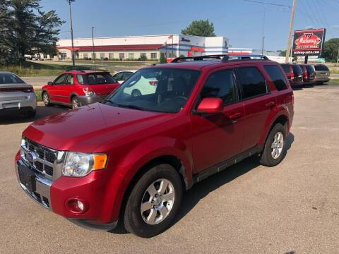 2011 Ford Escape for sale at Midway Auto Sales in Rochester MN