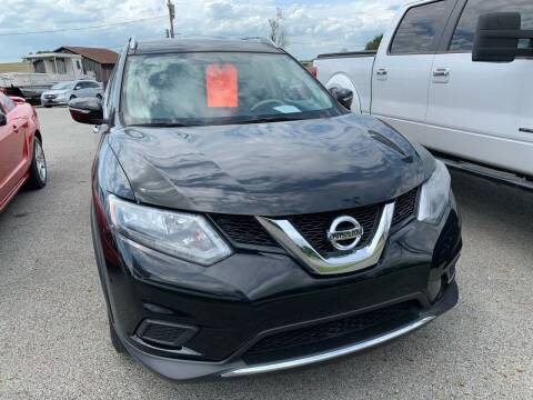 2015 Nissan Rogue for sale at Todd Nolley Auto Sales in Campbellsville KY