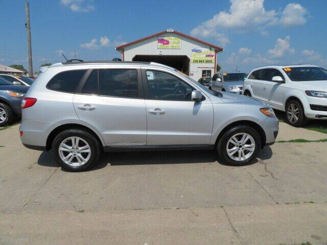 2010 Hyundai Santa Fe for sale at Jefferson St Motors in Waterloo IA