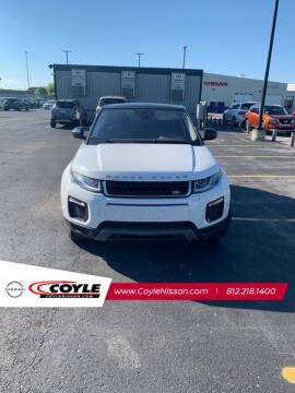 2018 Land Rover Range Rover Evoque for sale at COYLE GM - COYLE NISSAN - New Inventory in Clarksville IN