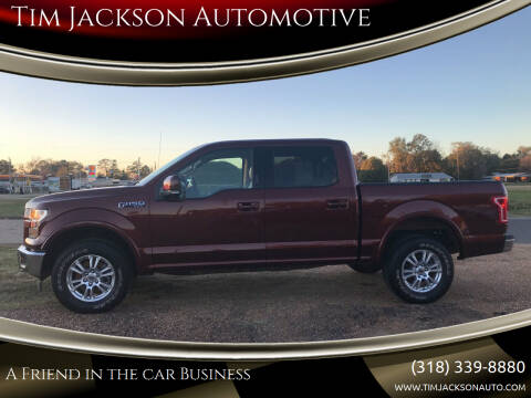 2017 Ford F-150 for sale at Tim Jackson Automotive in Jonesville LA