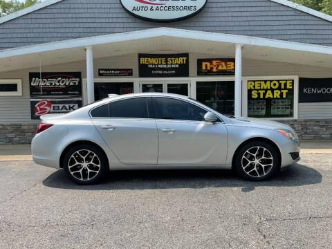 2017 Buick Regal for sale at Stans Auto Sales in Wayland MI