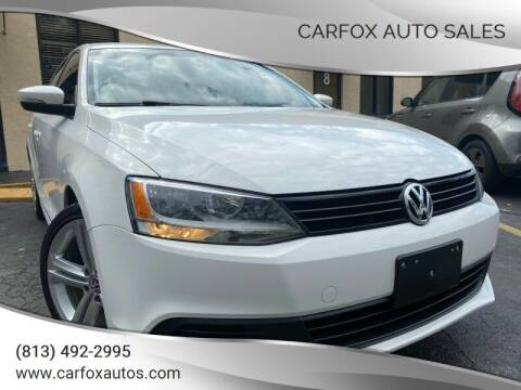2014 Volkswagen Jetta for sale at Carfox Auto Sales in Tampa FL