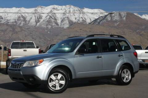 2012 Subaru Forester for sale at REVOLUTIONARY AUTO in Lindon UT