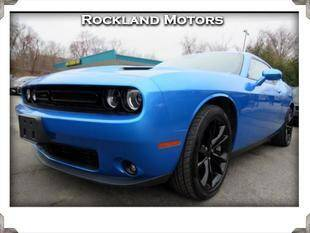 2016 Dodge Challenger for sale at Rockland Automall - Rockland Motors in West Nyack NY