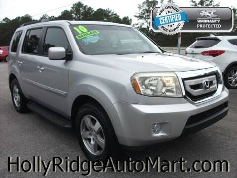 2010 Honda Pilot for sale at Holly Ridge Auto Mart in Holly Ridge NC