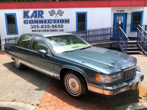 1994 Cadillac Fleetwood for sale at Kar Connection in Miami FL