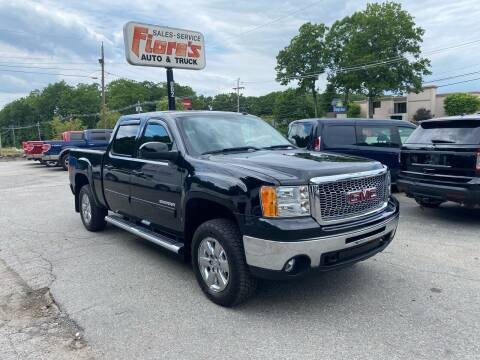 2012 GMC Sierra 1500 for sale at FIORE'S AUTO & TRUCK SALES in Shrewsbury MA