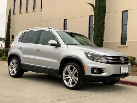 2012 Volkswagen Tiguan for sale at Auto King in Roseville CA
