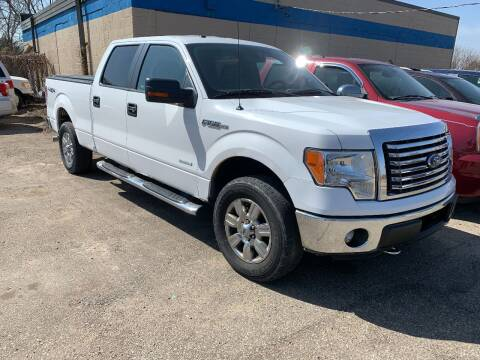 2012 Ford F-150 for sale at BEAR CREEK AUTO SALES in Rochester MN