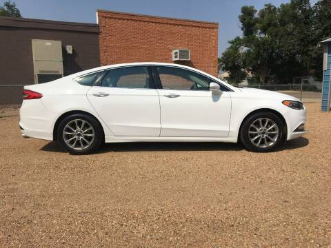 2017 Ford Fusion for sale at Chubbuck Motor Co in Ordway CO