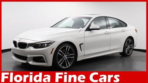 2019 BMW 4 Series for sale at Florida Fine Cars - West Palm Beach in West Palm Beach FL