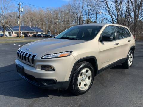 2014 Jeep Cherokee for sale at Volpe Preowned in North Branford CT