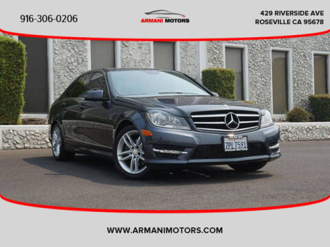 2014 Mercedes-Benz C-Class for sale at Armani Motors in Roseville CA