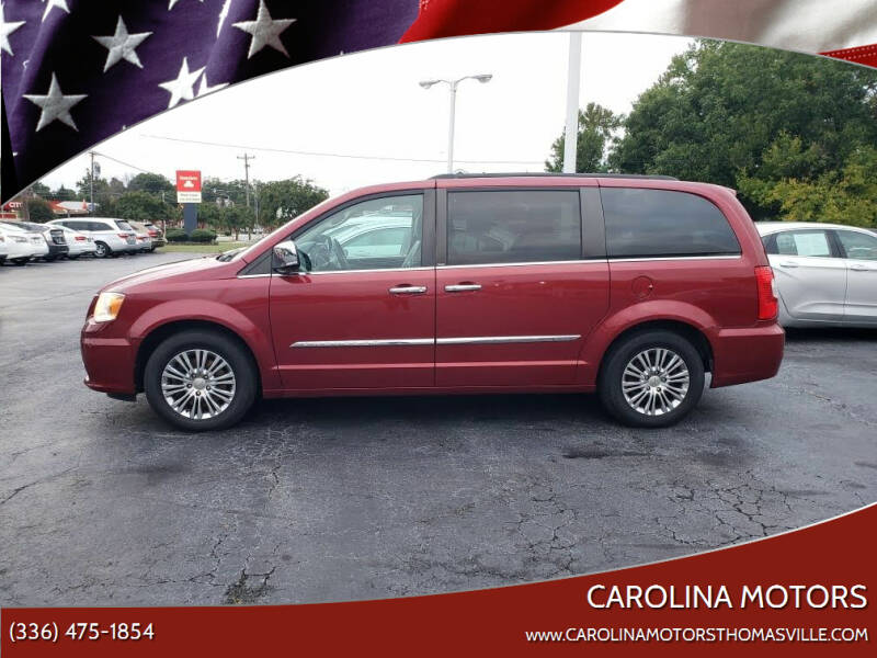 2014 Chrysler Town and Country for sale at CAROLINA MOTORS - Carolina Classics & More-Thomasville in Thomasville NC