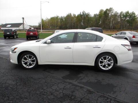 2013 Nissan Maxima for sale at KAISER AUTO SALES in Spencer WI