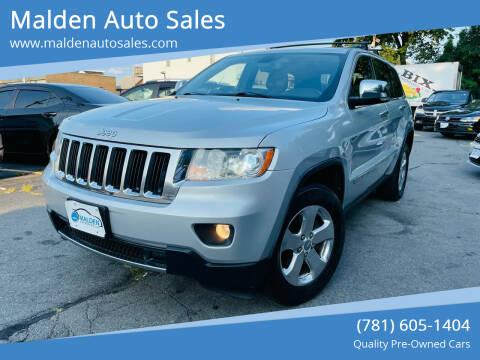 2012 Jeep Grand Cherokee for sale at Malden Auto Sales in Malden MA