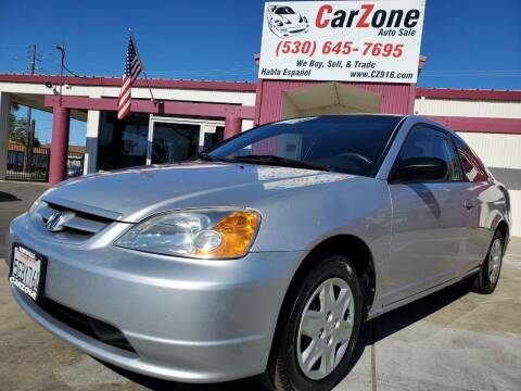 2003 Honda Civic for sale at CarZone in Marysville CA