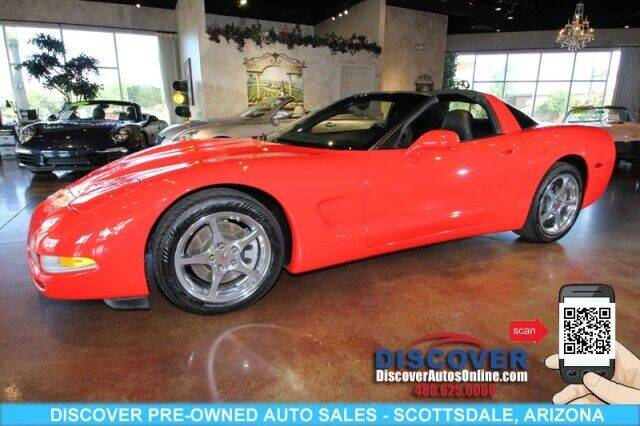 2003 Chevrolet Corvette for sale at Discover Pre-Owned Auto Sales in Scottsdale AZ