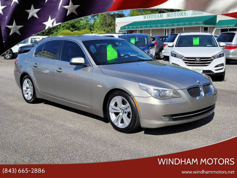 2010 BMW 5 Series for sale at Windham Motors in Florence SC