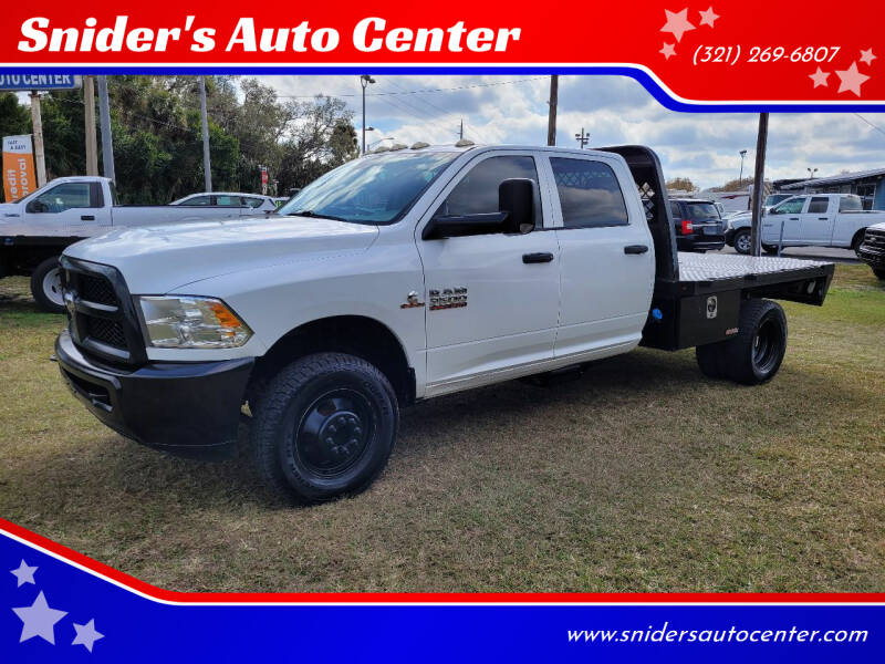 2014 RAM Ram Chassis 3500 for sale at Snider's Auto Center in Titusville FL