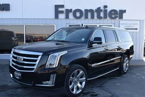2020 Cadillac Escalade ESV for sale at Frontier Motors Automotive, Inc. in Winner SD