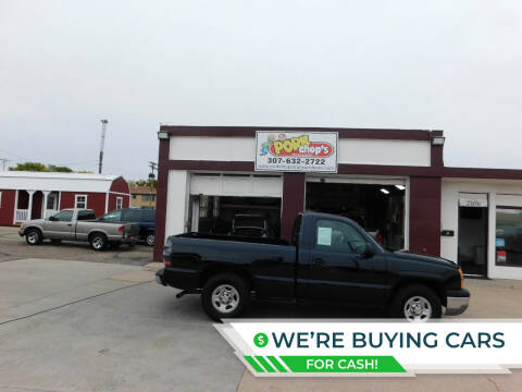2003 Chevrolet Silverado 1500 for sale at Pork Chops Truck and Auto in Cheyenne WY