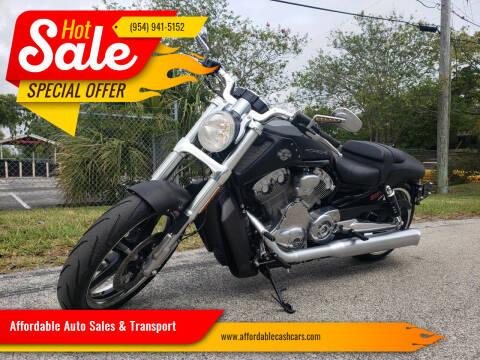 2012 Harley-Davidson V-Rod for sale at Affordable Auto Sales & Transport in Pompano Beach FL