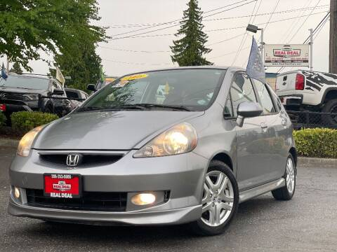 2008 Honda Fit for sale at Real Deal Cars in Everett WA
